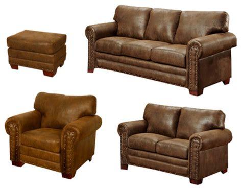 american furniture classics sedona 4 piece living room set buckskin 4 piece set traditional living room