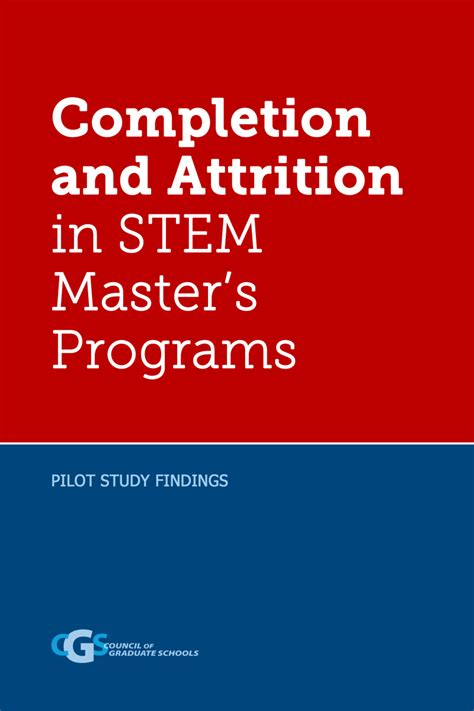Stem Mba Programs In by Master S Completion Project Council Of Graduate Schools
