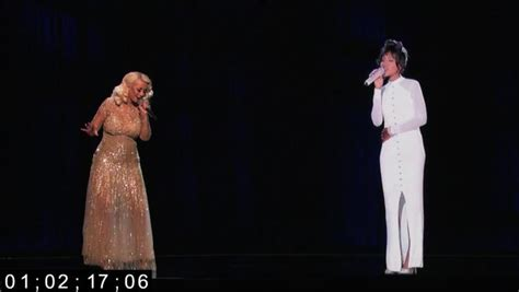 Holograms Replace On New York Catwalks by Aguilera Won T Sing With Houston
