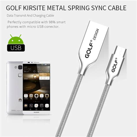 Kabel Micro Usb Metal High Quality Charges Fast And Syncs F T3009 golf kabel charger micro usb metal gc 33 silver jakartanotebook