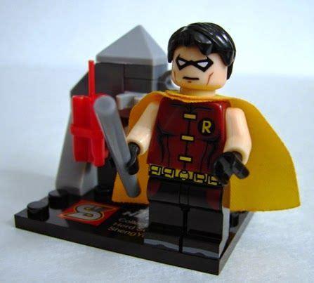 toyriffic robin justice lego bootleg minifgures by shengyuan toys toys toys