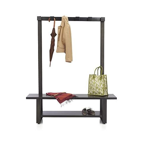 Entryway Storage Bench With Coat Rack Welkom Tree Bench With Coat Rack In Entryway Storage Crate And Barrel Home Decor Diy
