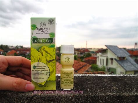 Obat Jerawat Sariayu review sari ayu intensive acne care princess pink