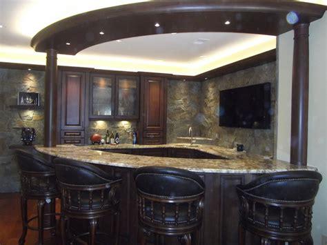 Fox Home Decor High End Custom Wet Bar In Basement
