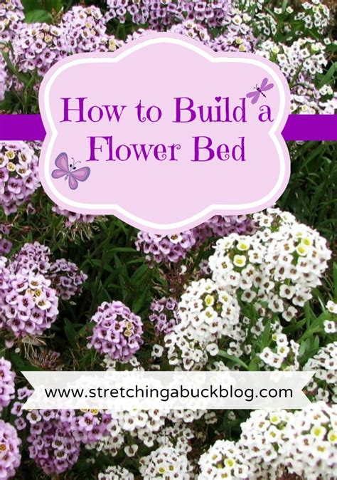 how to build a flower bed how to build a flower bed stretching a buck stretching