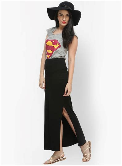 what are the best with black maxi skirts