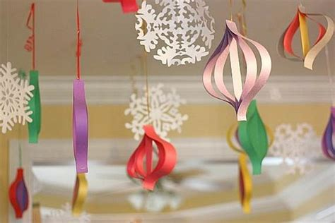 Paper Craft Decoration Ideas - handmade paper craft decorations family