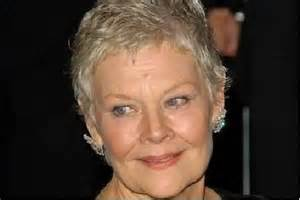 judi dench haircut judi dench hairstyle