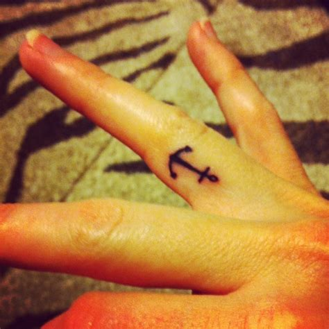 bad influence tattoo best 25 anchor finger tattoos ideas on anchor