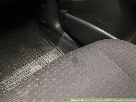 remove grease from upholstery 4 ways to remove grease and from a car s interior