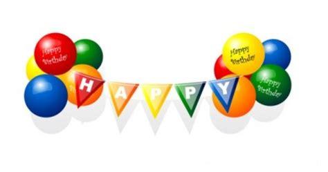 Balon Happy Birthday Warna Ungu Selamat Ulang Tahun Balon Vektor Vektor Misc Vektor Gratis