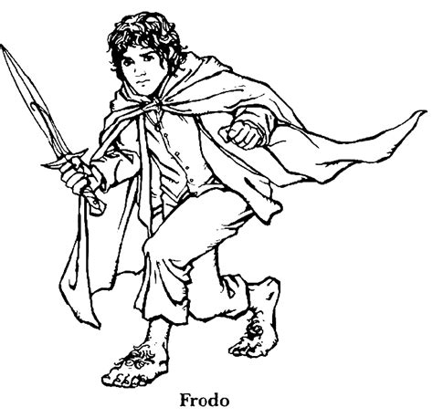 free coloring pages of lego hobbit