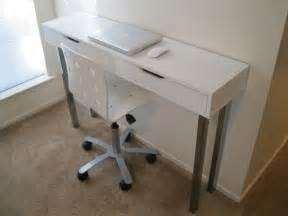 Small Desk With Drawers Ikea Ekby Alex Writing Sofa Table Ikea Hackers Ikea Hackers