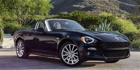 Spider Auto by 2018 Fiat 124 Spider Vehicles On Display Chicago