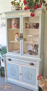 shabby chic china sold shabby chic china cabinet hutch cottage style
