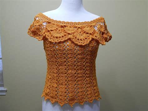 blusa tejida a crochet para verano parte 1 de 2 las 25 mejores ideas sobre blusas tejidas en crochet en