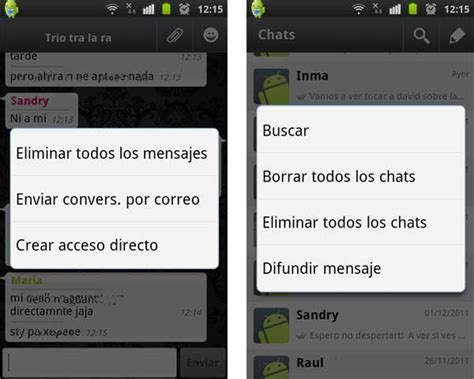 imagenes whatsapp borrar 191 c 243 mo borrar una conversaci 243 n de whatsapp sin abandonar el