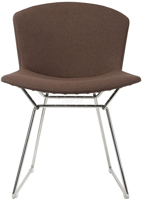 upholstery wire harry bertoia style wire dining side chair full cover