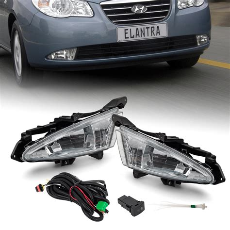 hyundai elantra fog light replacement for 2007 2011 hyundai elantra front bumper fog lights