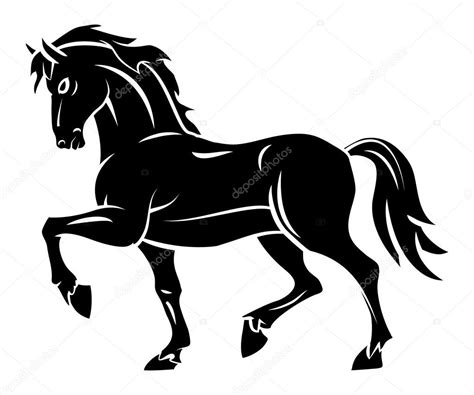 imagenes vectores de caballos tatuaje de caballo vector de stock 169 funwayillustration