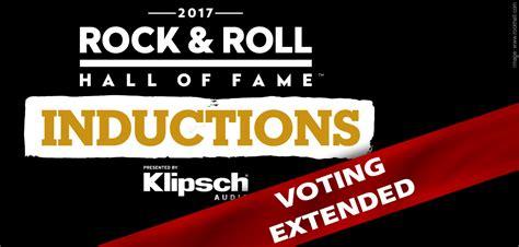 rock fan vote 2017 rock roll of fame fan vote extended 187 nwot