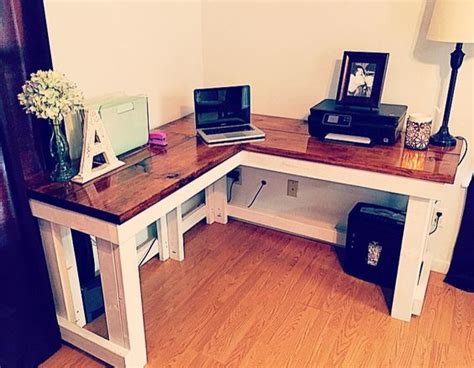 Corner Desk Diy Pinterest Desks And Corner Desk How To Make A Corner Desk