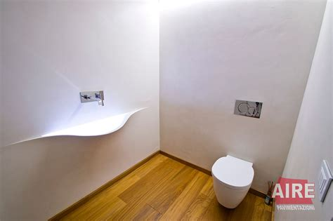 resina per pareti bagno bagni