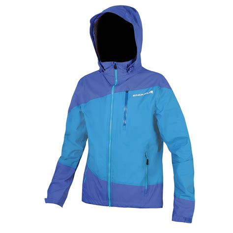 blue cycling jacket wiggle endura singletrack jacket cycling waterproof