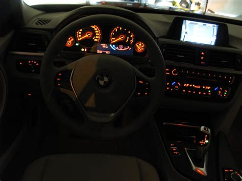 bmw dashboard at night request f30 interior night shots ambient light