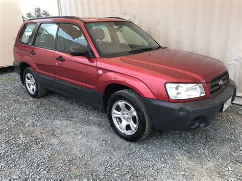 used subaru forester sold 4cyl awd wagon subaru forester 2 5 x 2003 used