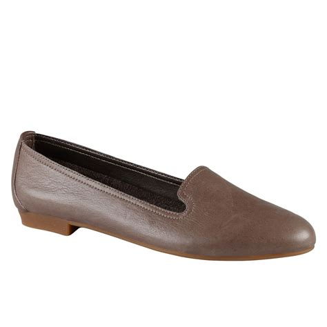 aldo loafers aldo zenica leather loafer shoes in brown grey lyst