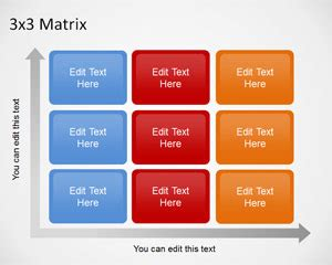 Matrix Diagram Powerpoint Gallery How To Guide And Refrence 3x3 Label Template
