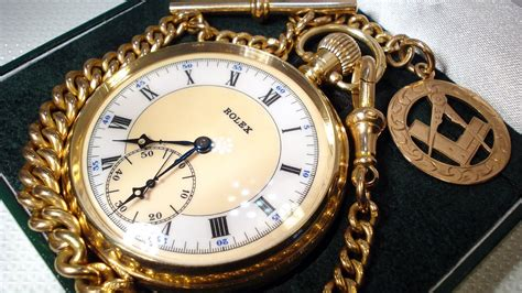 Rolex Chain rolex solid gold pocket with chain review