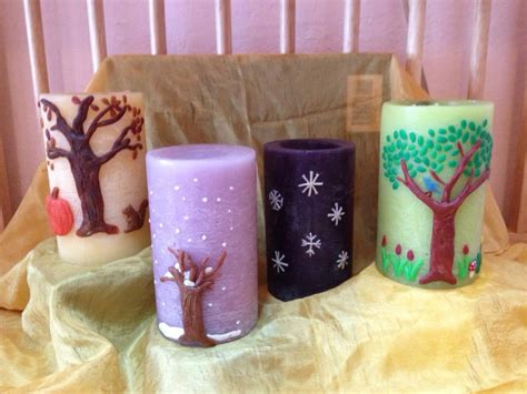 how to decorate a candle starbright fall arts workshops starbright preschool