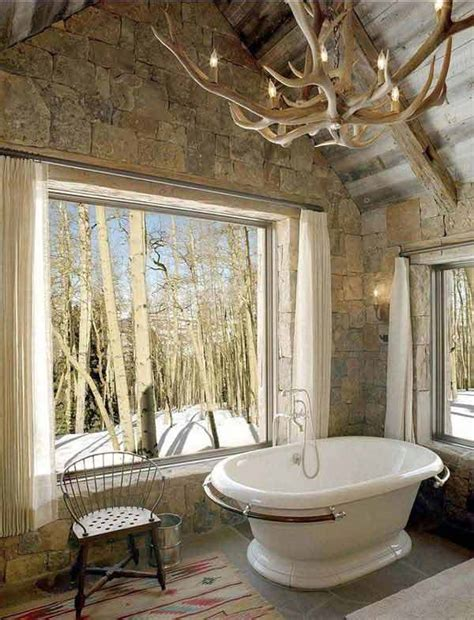 Rustic Cabin Bathroom Ideas - 30 inspiring rustic bathroom ideas for cozy home amazing