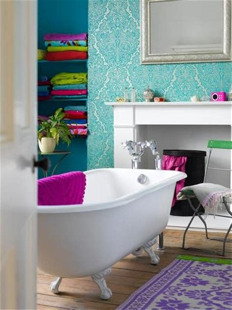girly bathroom ideas 12 fotos de ba 241 os en colores vivos