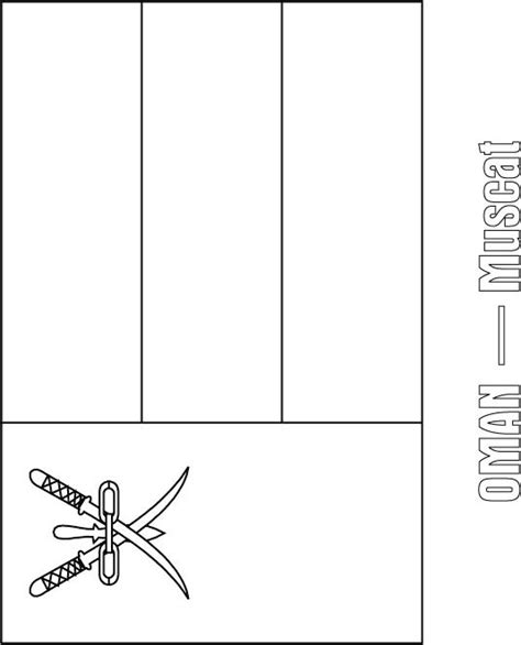 oman free coloring pages
