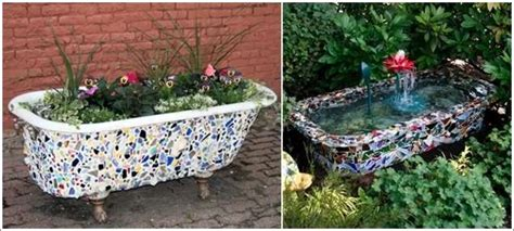 cover old bathtub 5 totally awesome ideas to recycle broken tiles
