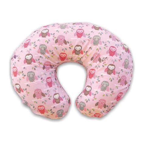boppy bare pillow with slipcover pink owl target