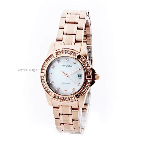 Ladies' Sekonda Rose Pearl Watch (4618)   WATCH SHOP.com?