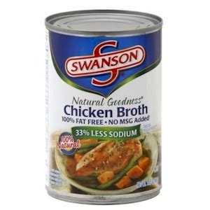 chicken broth substitutes ingredients equivalents