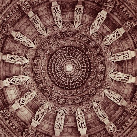 the temple and the sacred geometry of the human condition details of domed roof