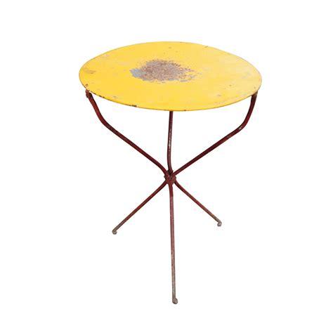 Retro Patio Table Vintage Mid Century Modern Outdoor Bistro Patio Table Ebay