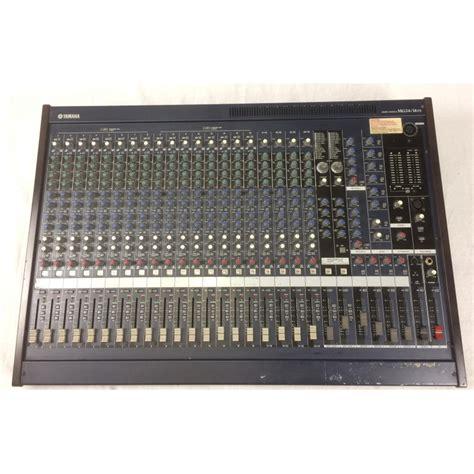 Mixer Yamaha Mg 24 Baru yamaha mg 24 14 fx mixer yamaha