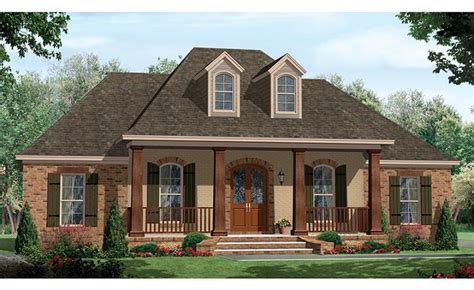 house with porch one story house plans with porch