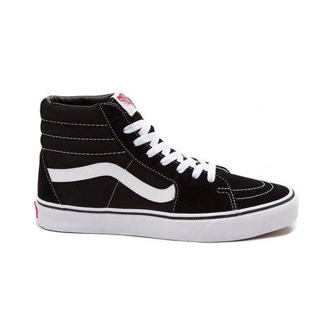 black and white vans sk8 hi vans brand shoes