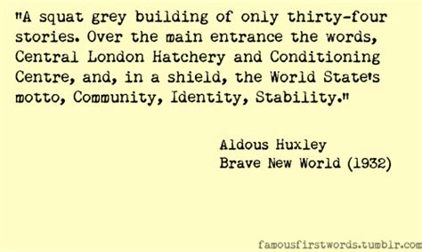 quotes of theme in brave new world brave new world important quotes quotesgram
