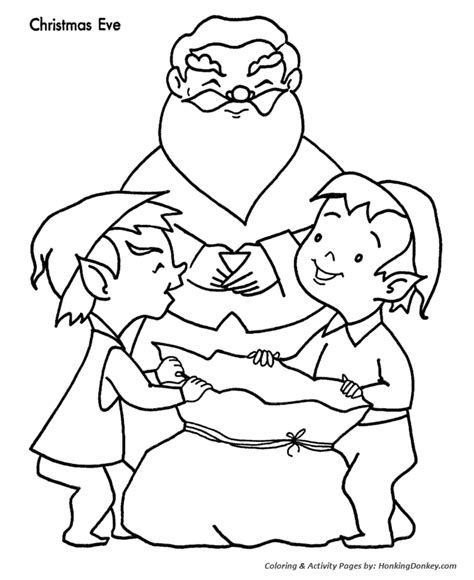 coloring pages christmas eve christmas eve free colouring pages