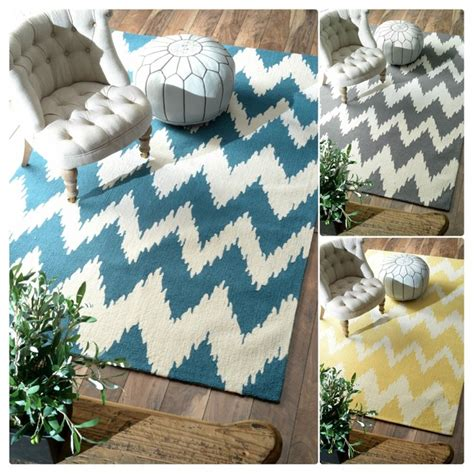 Modern Ikat Rug Nuloom Handmade Modern Ikat Chevron Rug Contemporary Rugs By Overstock