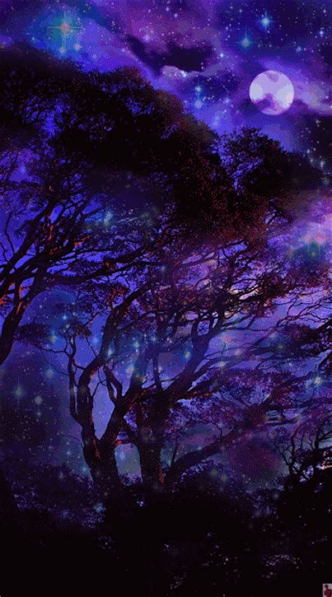 imagenes de paisajes violetas imagenes gifs hermosos paisajes gifs